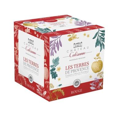 Rav 5l Les Terres De Provence Rouge Aop Coteaux D'aix Calissanne
