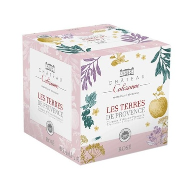 Rav 5l Les Terres De Provence Rose Aop Coteaux D'aix Calissanne