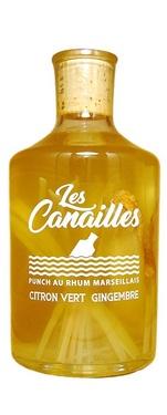 Rhum Arrange Citron Vert Gingembre 29° 0.70 Cl Canailles